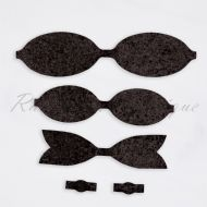 Chunky Black Bow Kit